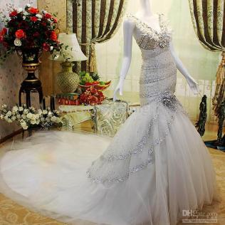 Gorgeous Collection Of Mermaid Wedding Dresses With Bling
