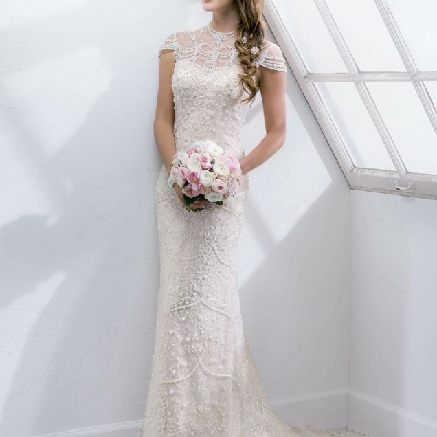 Great Gatsby Inspired Wedding Dresses And Accessories