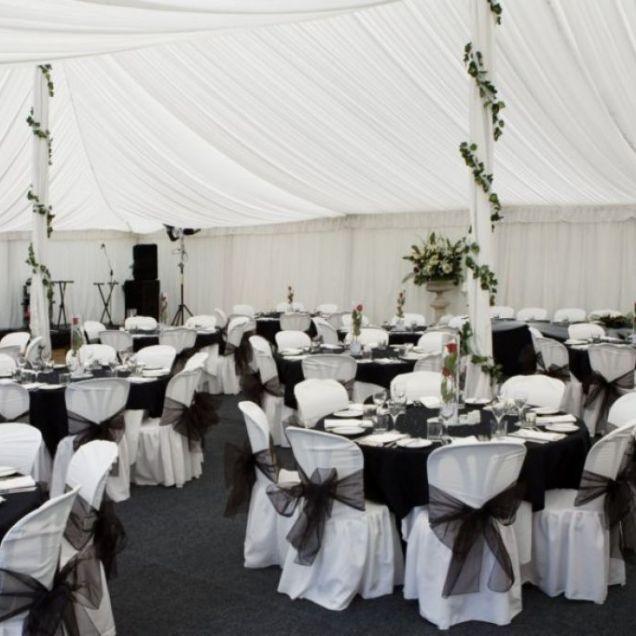 Ideas About Black Wedding Decor On Pinterest Black Intended For
