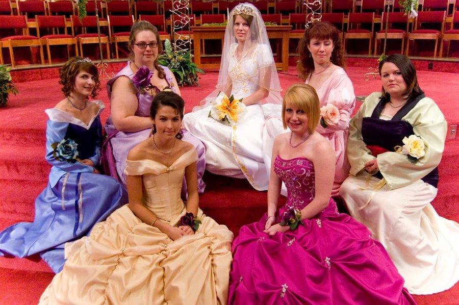 Prince And Princess Themed Wedding