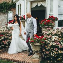 Low Budget Wedding With Luxe Styling Bespoke Wedding Gown Parley
