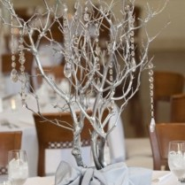 Merry And Bright Christmas Wedding Centerpieces