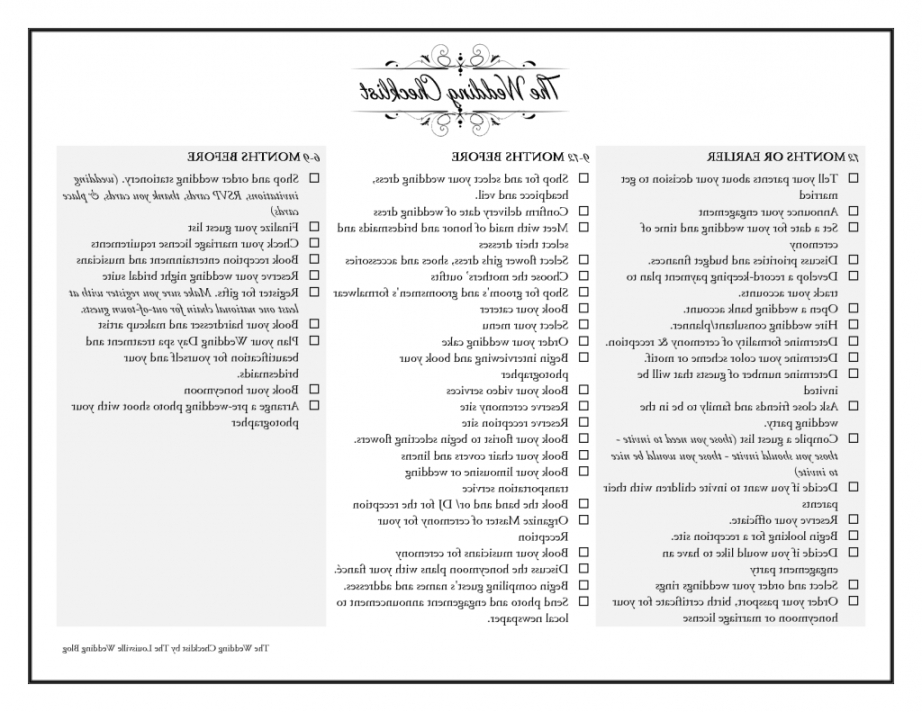 photo about Printable Wedding Checklist the Knot identified as The Knot Wedding ceremony Listing