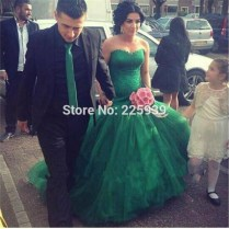 Online Buy Wholesale Beautiful Green Wedding Dresses From China
