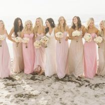Pink And Nude Bridesmaid Dresses – Emasscraft Org Weddings