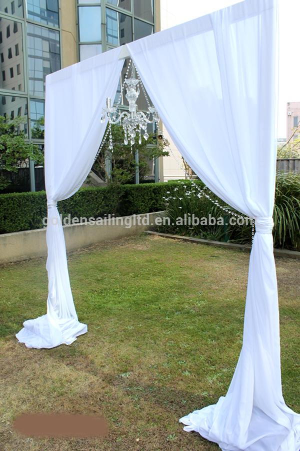 Pipe And Drape Wedding Decoration