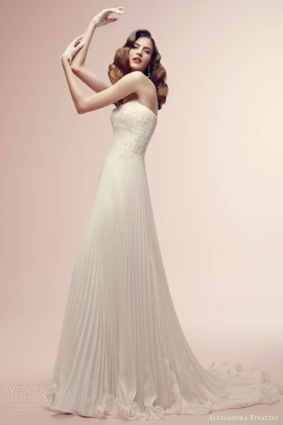 Pleated Wedding Dress Skirt