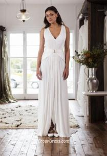Pleated Wedding Dresses & Gowns