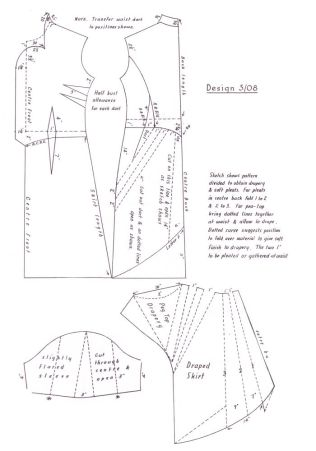 Printable Wedding Dress Pattern