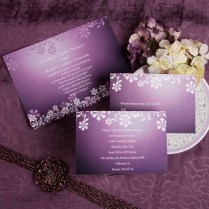 Purple Wedding Invitations And Wedding Ideas