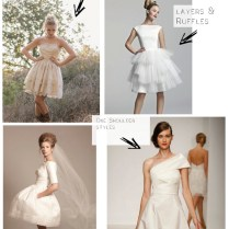 Short Wedding Dress Trends For 2014