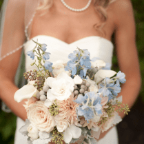 Something Blue For Your Rustic Wedding