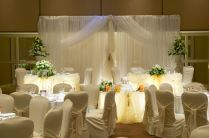 Stunning Decorations For Wedding Reception On Small Wedding