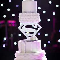 Superman Wedding Cake! By Christopher Garrens