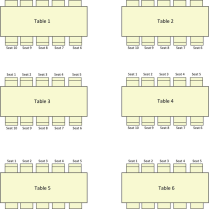 The Wedding Seating Chart Template 2 Can Help You Make A