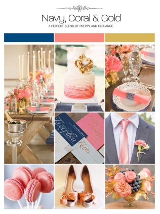 Top 25 Ideas About Coral Navy Weddings On Emasscraft Org