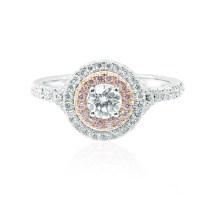 Uncategorized Cushion Diamond Double Halo Wedding Rings Suchastyle