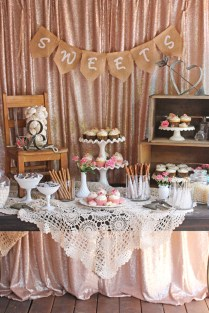 Vintage Wedding Dessert Table – Glorious Treats