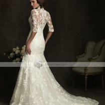 Wedding Dresses With Collars