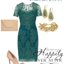 What To Wear To A Winter Wedding Green Cocktail Dress