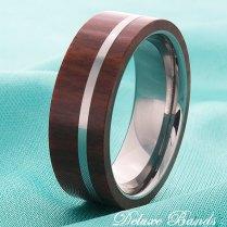 Wood Inlay Ring