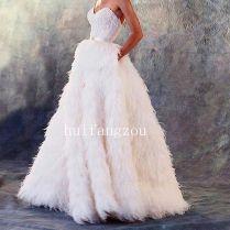 17 Best Ideas About Feather Wedding Dresses On Emasscraft Org