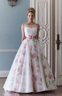 17 Best Ideas About Floral Wedding Dresses On Emasscraft Org