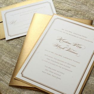 17 Best Ideas About Gold Wedding Invitations On Emasscraft Org