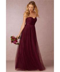17 Best Ideas About Maroon Bridesmaid Dresses On Emasscraft Org