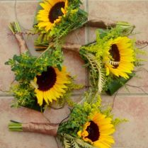 17 Best Ideas About Sunflower Wedding Bouquets On Emasscraft Org