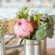 17 Best Ideas About Tin Can Centerpieces On Emasscraft Org