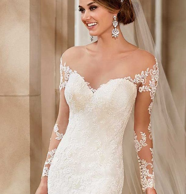 17 Best Images About Detachable Wedding Gown Straps, Sleeves