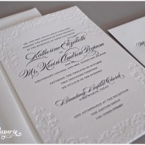 17 Best Images About Letterpress Wedding Invitations On Emasscraft Org