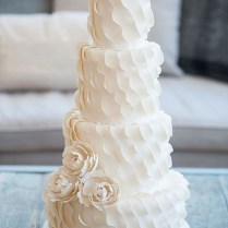 2014 Wedding Cake Trends 6 Textured Wedding Cakes