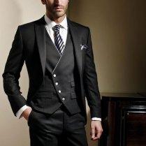 2017 Custom Made Groom Suit Formal Wedding Suit Groomsman Suits