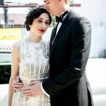 20s Themed Brooklyn Flapper Wedding