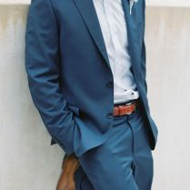 25 Best Blue Suit Groom Trending Ideas On Emasscraft Org