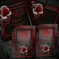25 Best Ideas About Gothic Wedding Invitations On Emasscraft Org