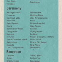 25 Best Ideas About Wedding Reception Checklist On Emasscraft Org