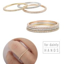 25 Best Images About Stacked Wedding Rings On Emasscraft Org!