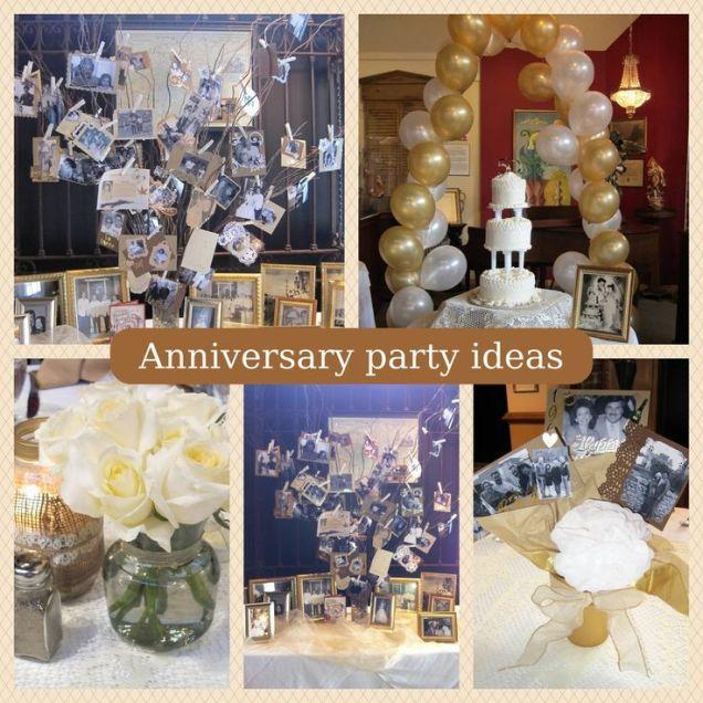 60th Wedding Anniversary Party Decoration Ideas Silver Wedding