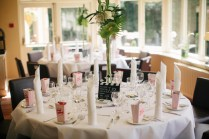 A Movie Themed Wedding Table