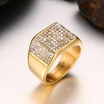 Aliexpress Com Buy Cool Big Gold Men Wedding Rings Wholesale