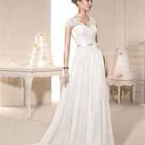 Aliexpress Com Buy Vintage Castle Simple Lace Wedding Dresses