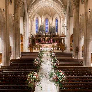 Amazing Floral Wedding Aisle Designs