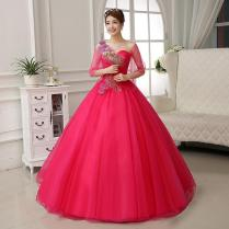 And Red Wedding Dress