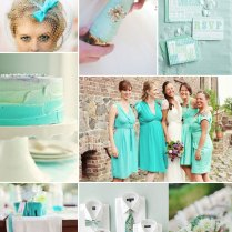 Aqua Green Wedding Colors