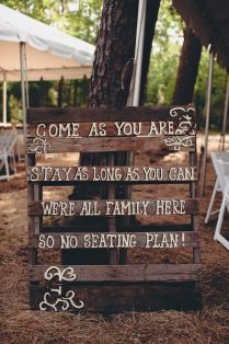 Awesome Pallet Wedding Ideas 26 Pallet Signs Amp Ideas For