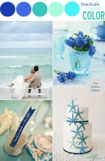 Beach Wedding Color Theme Let The Sea Inspire Your Choice