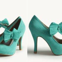Blue Suede Wedding Shoes